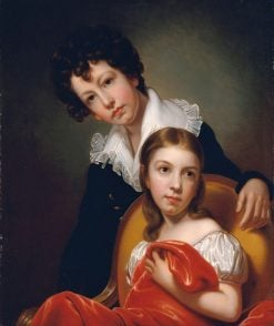 Michael Angelo and Emma Clara Peale | Rembrandt Peale | Oil Painting