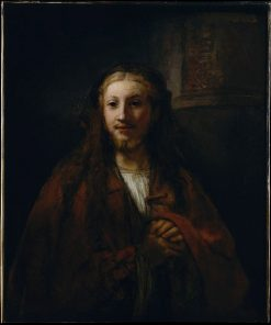 Christ with a Pilgrim's Staff (follower) | Rembrandt van Rijn | Oil Painting