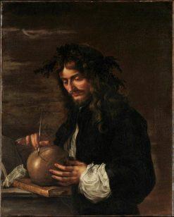 Self Portrait   Salvator Rosa   Oil Painting