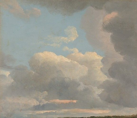 Cloud Study (Early Evening)   Simon Denis   Oil Painting
