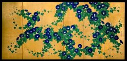 Morning Glories (2 of 2) | Suzuki Kiitsu | Oil Painting