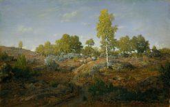 A Path Among the Rocks | ThEodore Rousseau | Oil Painting