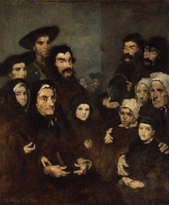 Breton Fishermen and Families | ThEodule Augustin Ribot | Oil Painting