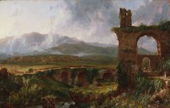 A View near Tivoli (Morning) | Thomas Cole | Oil Painting