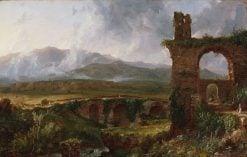 A View near Tivoli (Morning) | Thomas Cole | Oil Painting