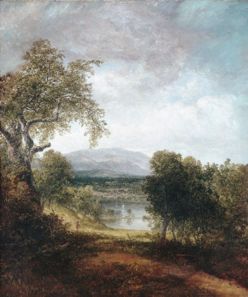 A River Glimpse | Thomas Doughty | Oil Painting