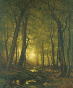 Evening in the Woods | Thomas Worthington Whittredge | Oil Painting
