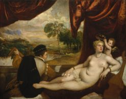 Venus and the Lute Player | Titian | Oil Painting