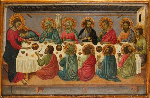 The Last Supper   Ugolino di Nerio   Oil Painting