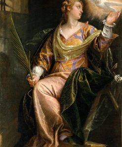 Saint Catherine of Alexandria in Prison | Veronese | Oil Painting