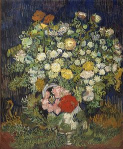 Bouquet of Flowers in a Vase | Vincent van Gogh | Oil Painting