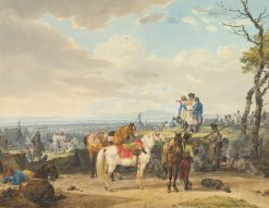 Austrian Soldiers | Wilhelm von Kobell | Oil Painting