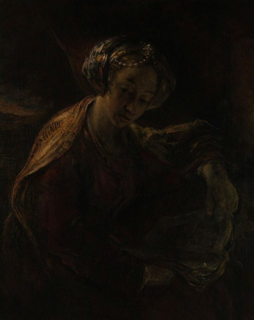 A Sibyl | Willem Drost | Oil Painting