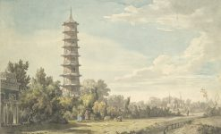 View of the Wilderness at Kew | William Marlow | Oil Painting