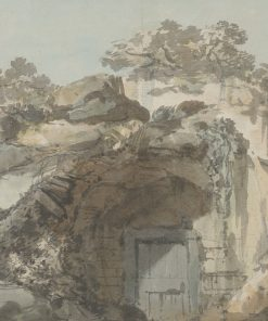 The Door of a Grotto | William Marlow | Oil Painting