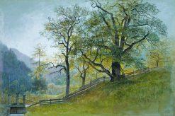 Vahrn in Tyrol near Brixen | William Stanley Haseltine | Oil Painting