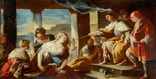 Figure Group 1   Jacopo Bassano   Oil Painting