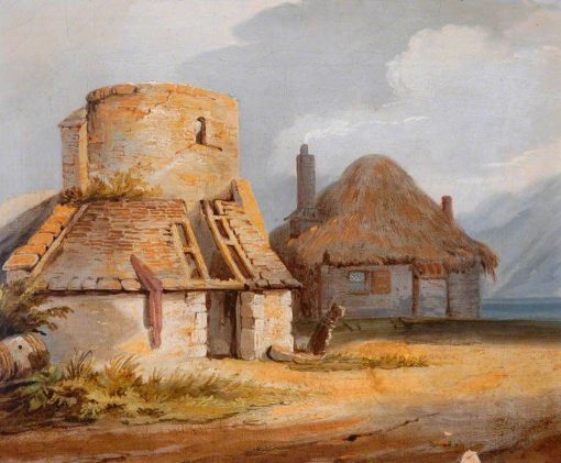 Farm Scene No.2 | Samuel Prout | Oil Painting
