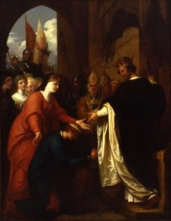 The Submission of Prince John to Richard I | Benjamin West | Oil Painting