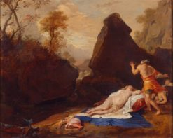 Landscape with Simon and Iphigenia | Bartholomeus Breenbergh | Oil Painting