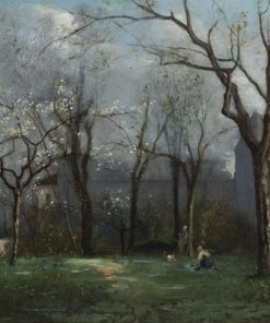 Au printemps (Springtime) | Charles Francois Daubigny | Oil Painting
