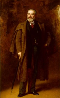 Portrait of Frederick Layton | Eastman Johnson | Oil Painting