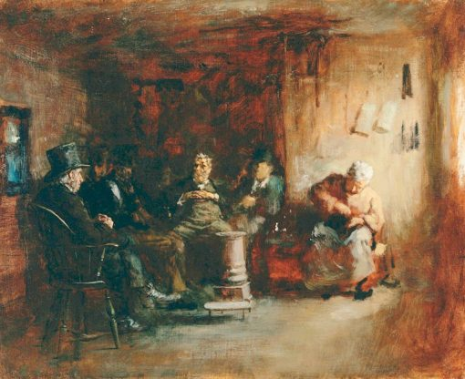 "Study for ""The Nantucket School of Philosophy"" 