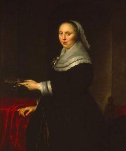 Portrait of a Woman | Govaert Flinck | Oil Painting