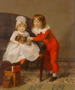 Portrait of Two Children | Henri Pierre Danloux | Oil Painting