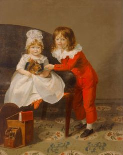 Portrait of Two Children | Henri Pierre Danloux | Oil Painting