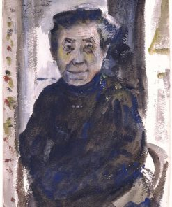 Portrait of an Old Woman | Lovis Corinth | Oil Painting