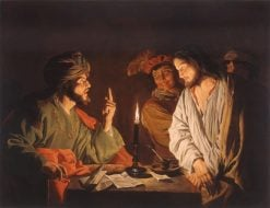 Christ before the High Priest | Matthias Stomer | Oil Painting