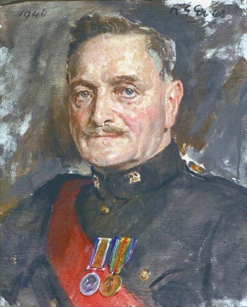 Sergeant Ernest Albert Scutt | Reginald Grenville Eves | Oil Painting