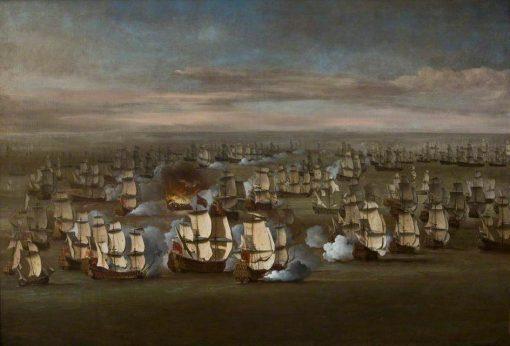 The Fleet at Sea | Willem van de Velde the Younger | Oil Painting
