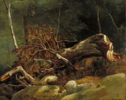 Fallen Branch | Achille Etna Michallon | Oil Painting
