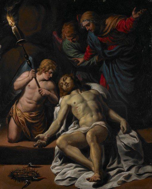 The Lamentation   Alessandro Turchi   Oil Painting