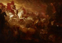 Destruction of the Beast and the False Prophet | Benjamin West | Oil Painting