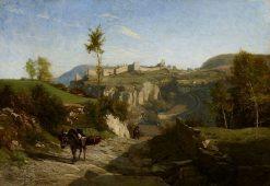 Landscape near Crémieu | Charles Francois Daubigny | Oil Painting