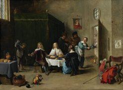 The Prodigal Son   David Teniers II   Oil Painting