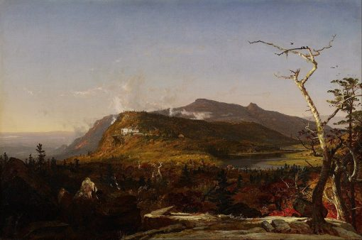 Catskill Mountain House | Jasper Francis Cropsey | Oil Painting