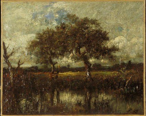 Landscape   Jules DuprE   Oil Painting