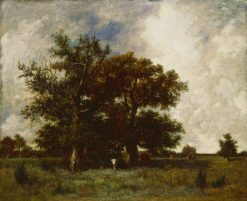 Fontainebleau Oaks | Jules DuprE | Oil Painting