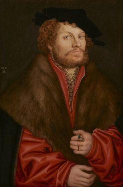 Portrait of Moritz Buchner | Lucas Cranach the Elder | Oil Painting