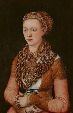 Portrait of Anna Buchner | Lucas Cranach the Elder | Oil Painting