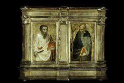 Saint Bartholomew and Saint Anthony Abbot | Mariotto di Nardo | Oil Painting