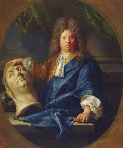 Portrait of Antoine Coysevox | Pierre Mignard | Oil Painting
