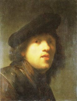 Copy after 'Study in the Mirror' | Rembrandt van Rijn | Oil Painting