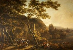 Landscape with Figures | Nicolaes Berchem | Oil Painting