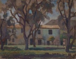 Olive Orchard   Roger Eliot Fry   Oil Painting
