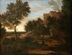Landscape with Three Figures | Gaspard Dughet | Oil Painting